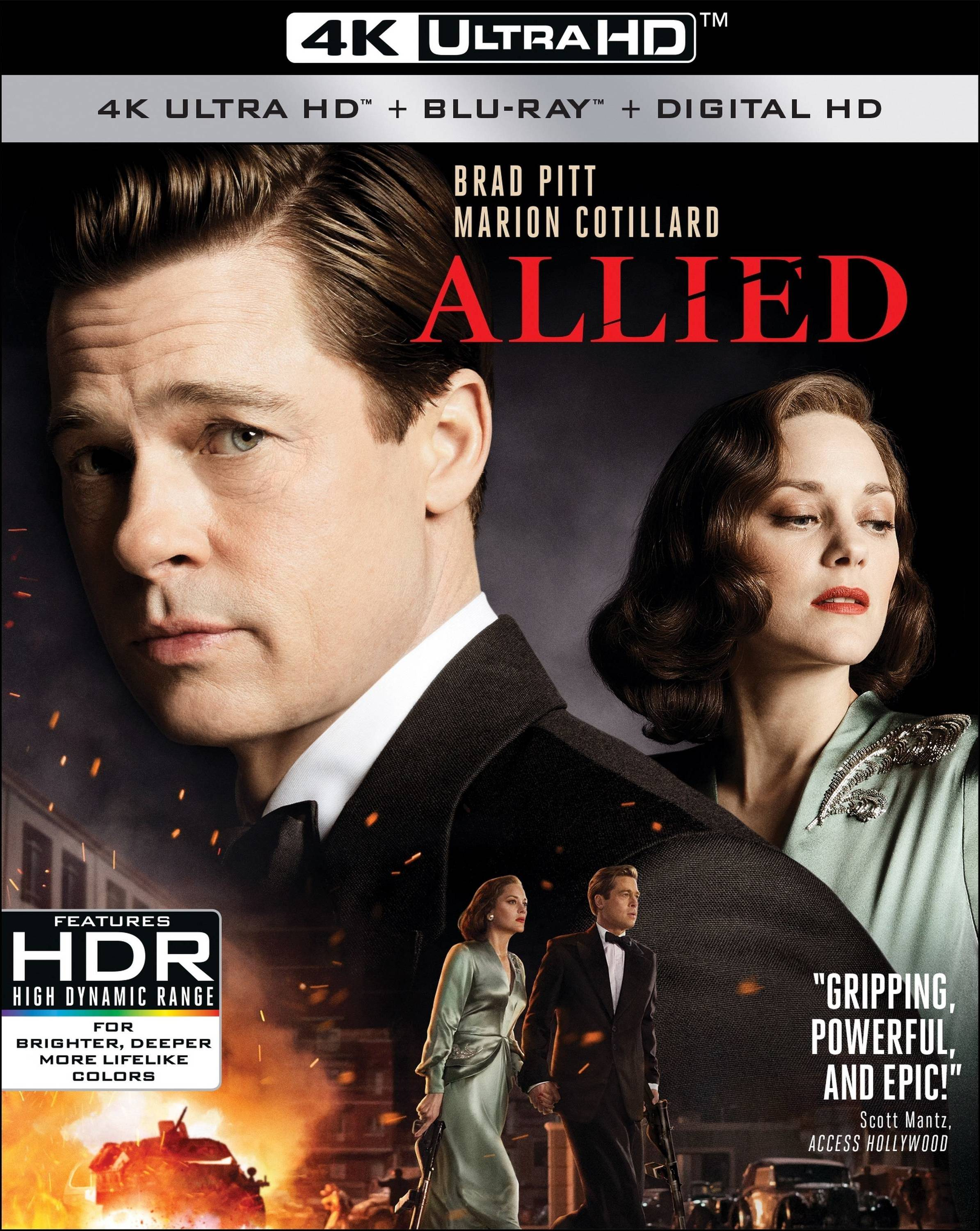 Allied 4K (2016) Ultra HD Blu-ray