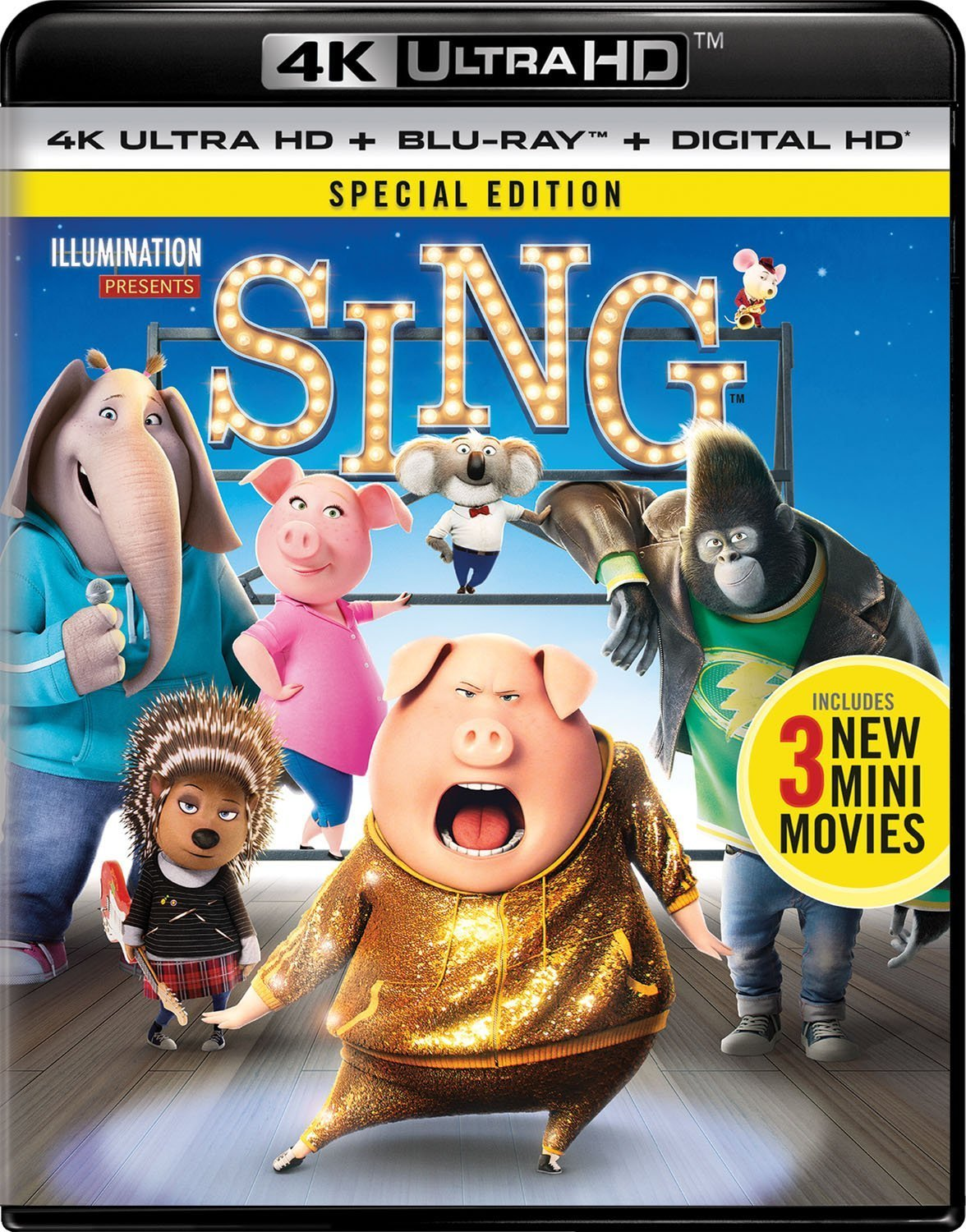 Sing 4K (2016) Ultra HD Blu-ray