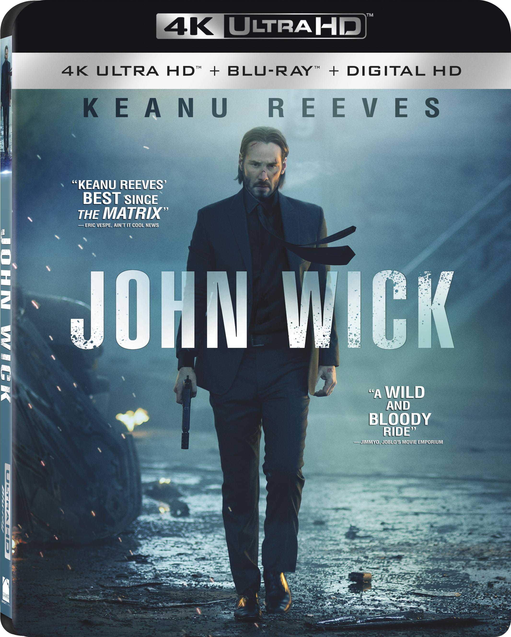 John Wick 4K (2014) Ultra HD Blu-ray