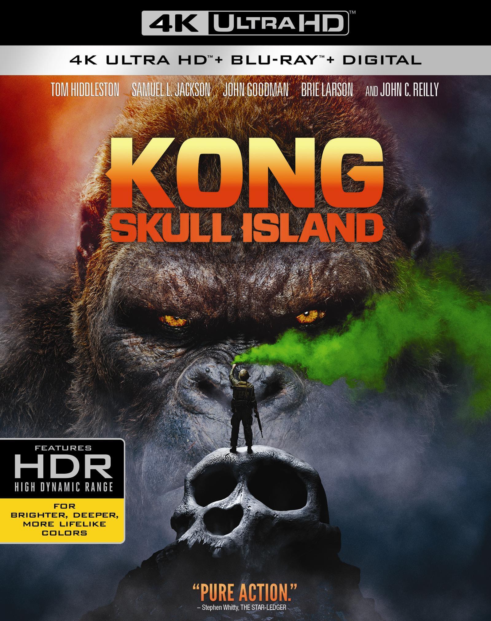 Kong: Skull Island 4K (2017) UHD Ultra HD Blu-ray
