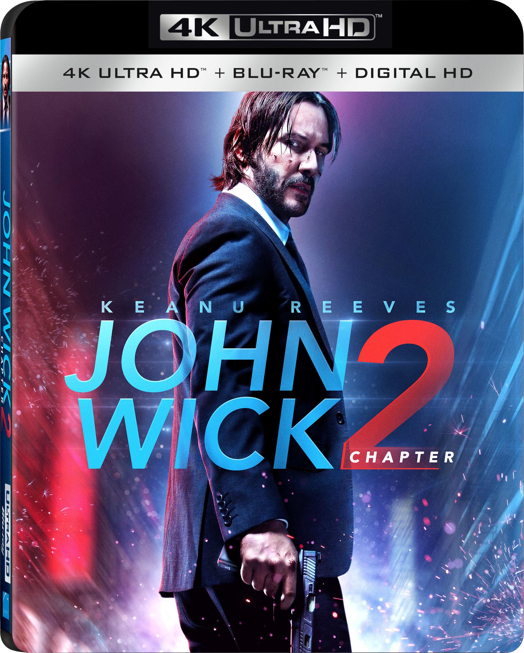 John Wick: Chapter 2 4K (2017) UHD Ultra HD Blu-ray