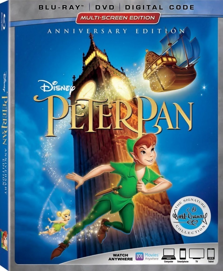 Peter Pan (The Signature Collection)(1953) Blu-ray
