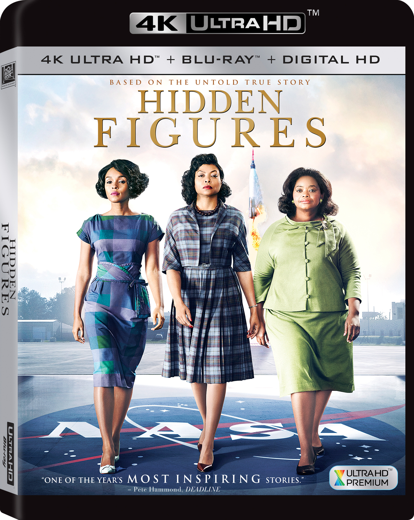 Hidden Figures 4K (2016) Ultra HD Blu-ray