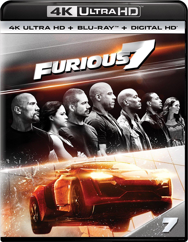 Furious 7 4K (2015) Ultra HD Blu-ray