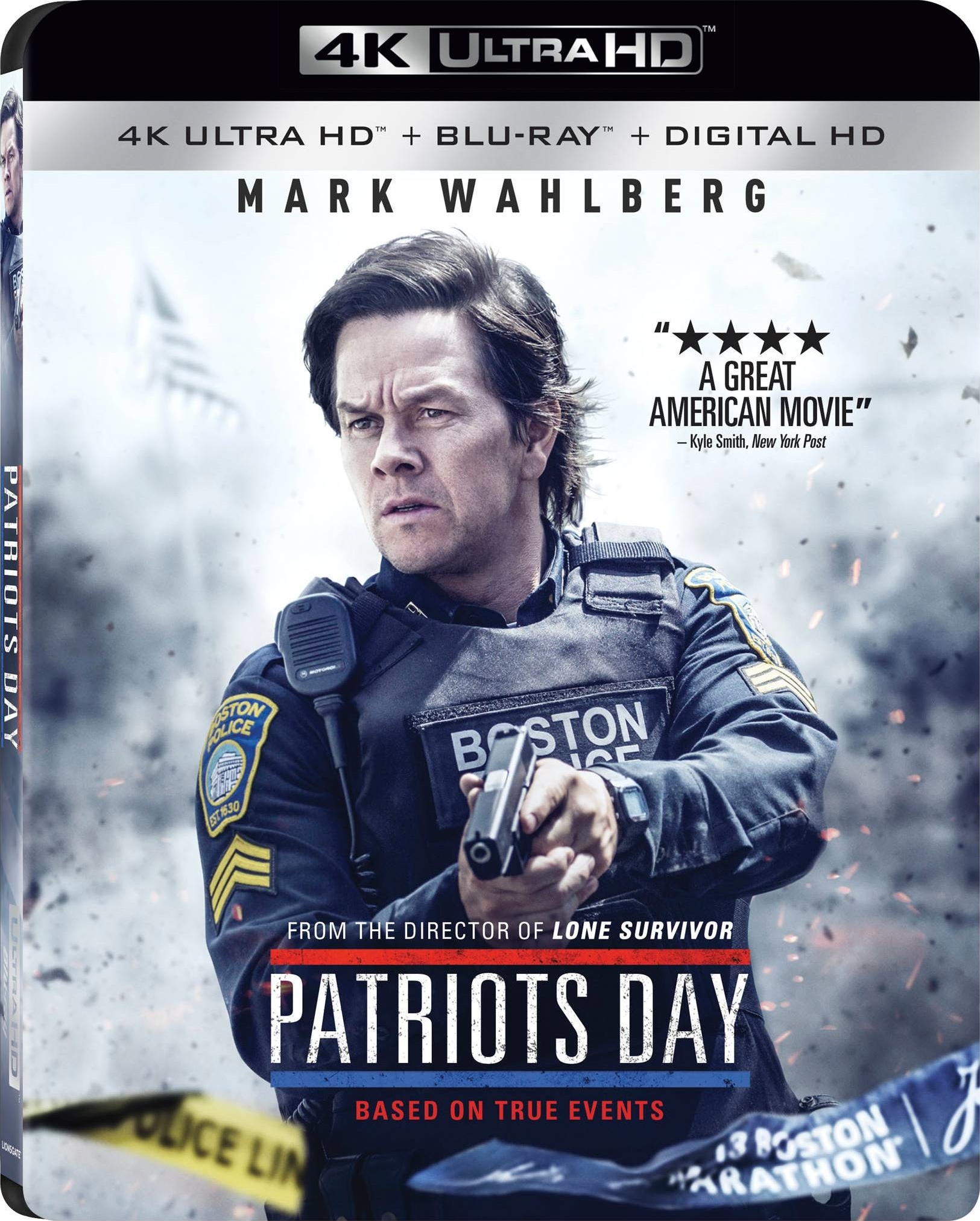 Patriots Day 4K (2016) Ultra HD Blu-ray