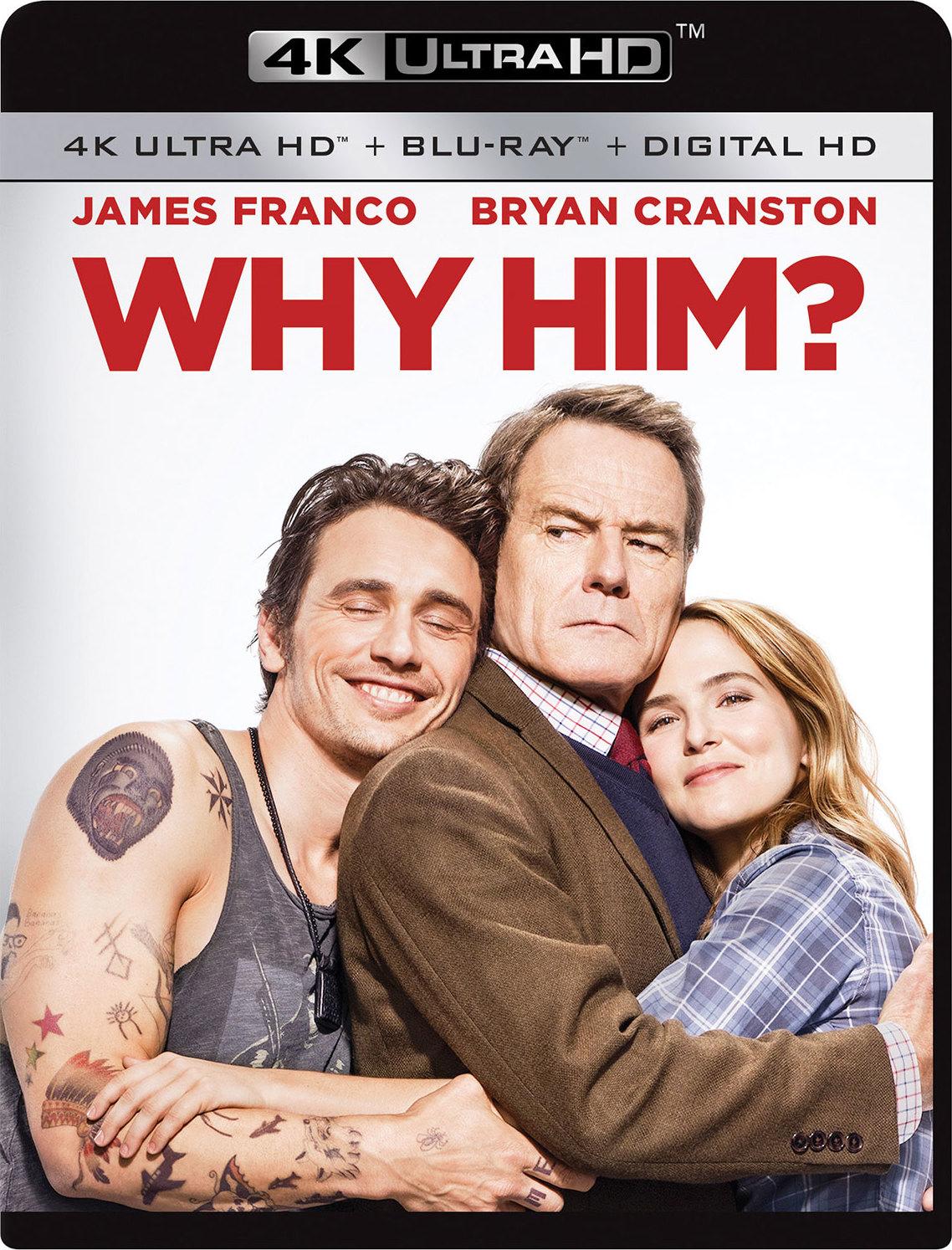 Why Him? 4K (2016) Ultra HD Blu-ray