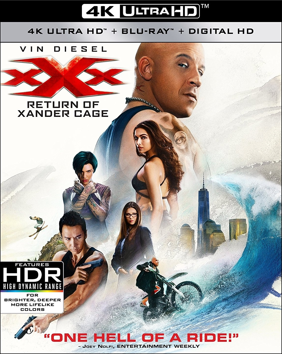 xXx: Return of Xander Cage 4K (2017) 4K Ultra HD Blu-ray