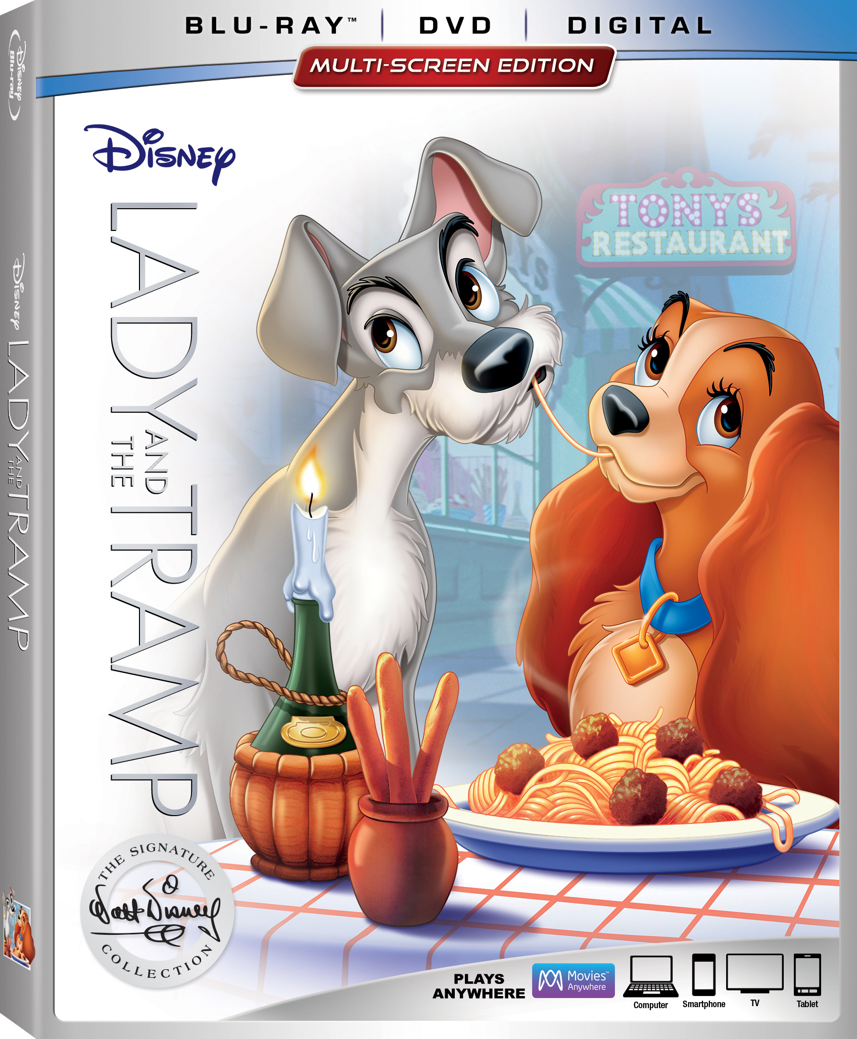 Lady and the Tramp (The Signature Collection)(1955) Blu-ray