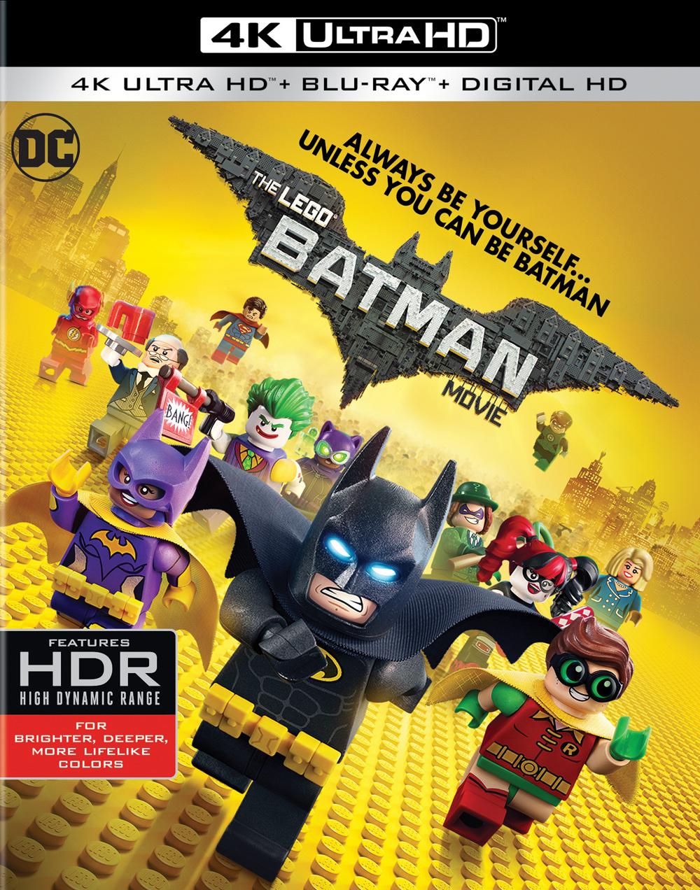 The LEGO Batman Movie 4K (2017) Ultra HD Blu-ray
