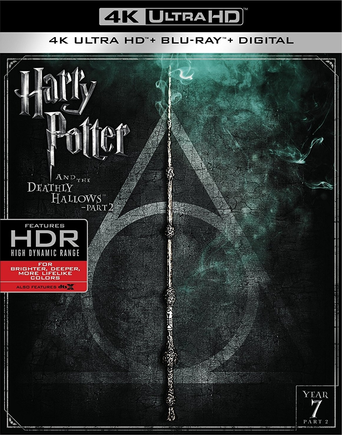 Harry Potter and the Deathly Hallows: Part 2 4K (2011) Ultra HD Blu-ray