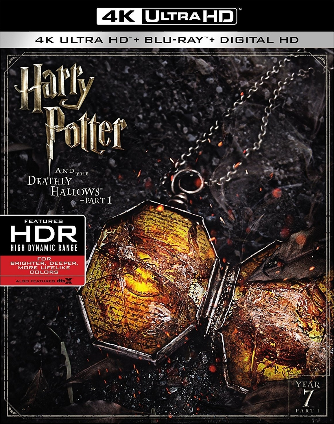 Harry Potter and the Deathly Hallows: Part 1 4K (2010) Ultra HD Blu-ray