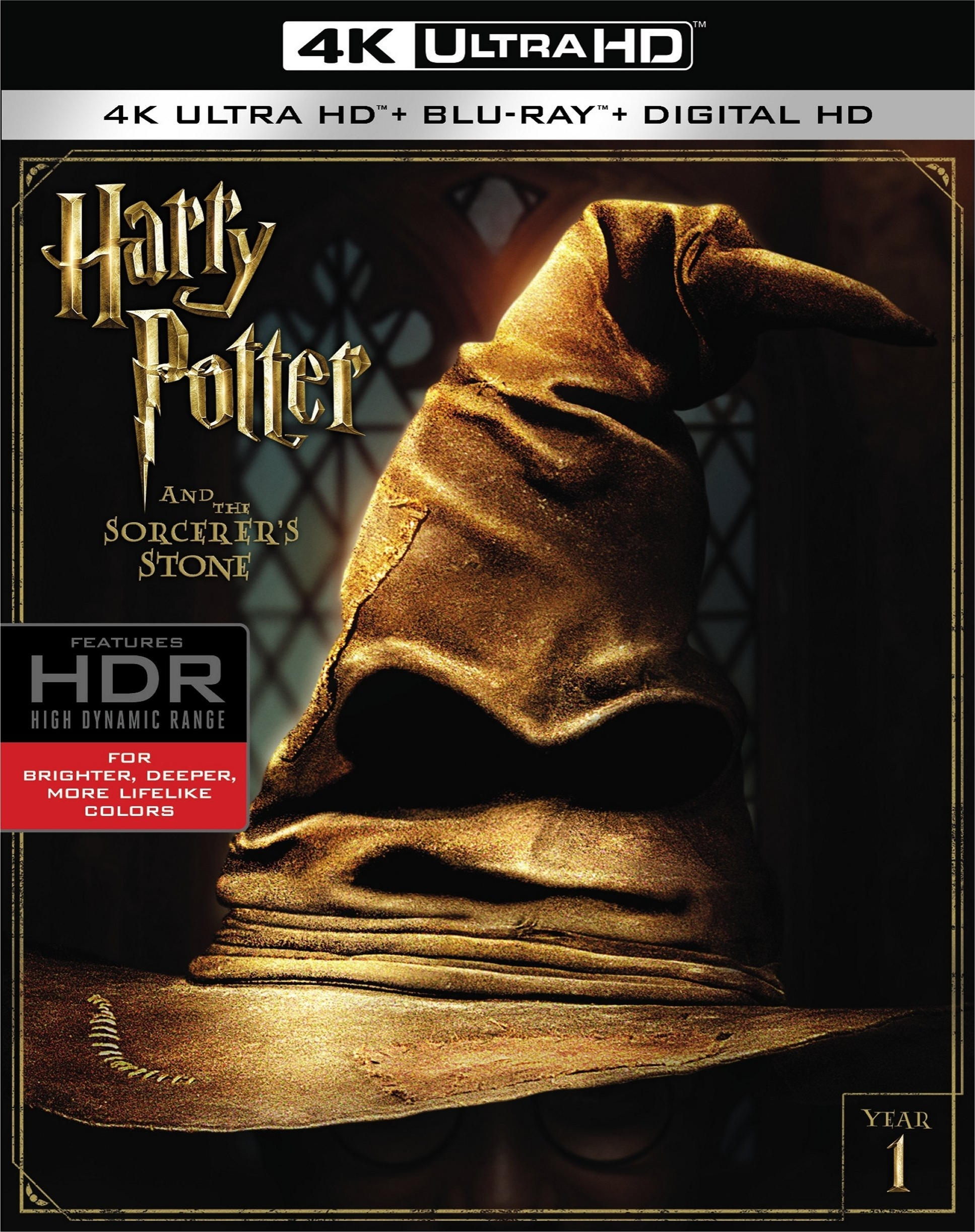 Harry Potter and the Sorcerers Stone 4K (2001) UHD Ultra HD Blu-ray