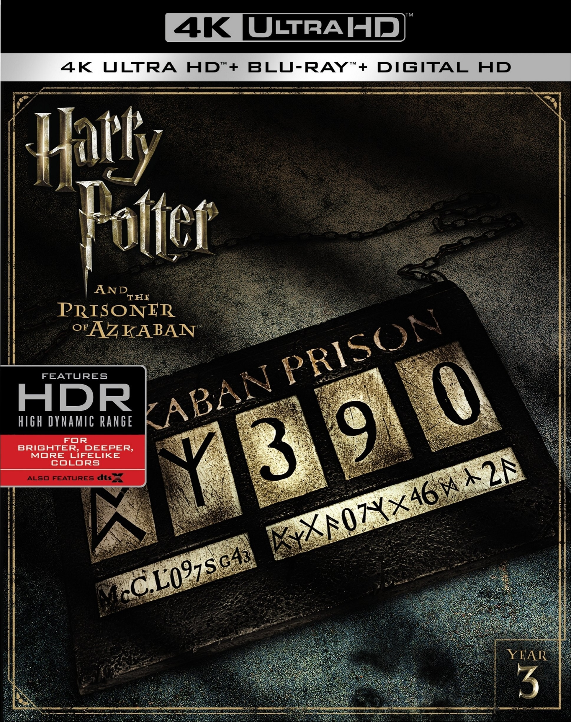 Harry Potter and the Prisoner of Azkaban 4K (2004) UHD Ultra HD Blu-ray