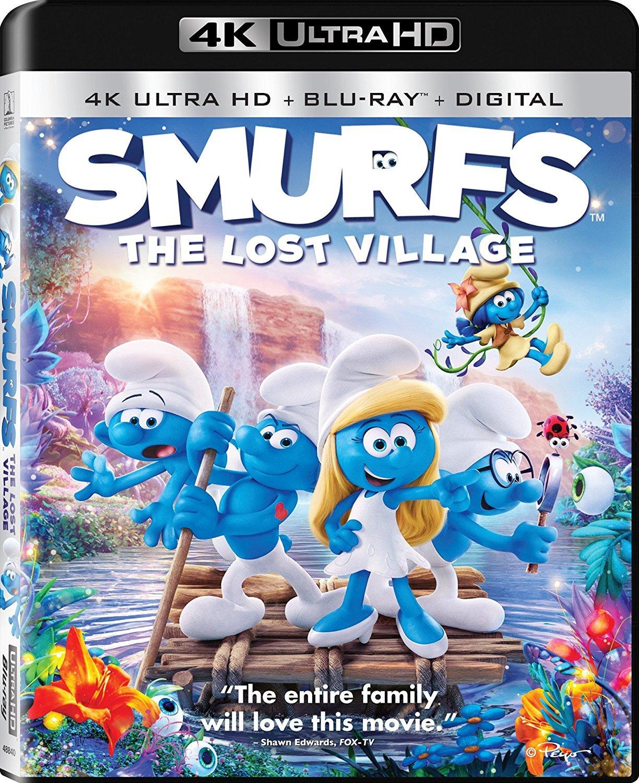 Smurfs: The Lost Village 4K (2017) UHD Ultra HD Blu-ray