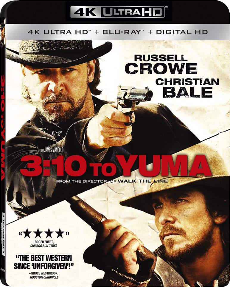 3:10 to Yuma 4K (2007) Ultra HD Blu-ray