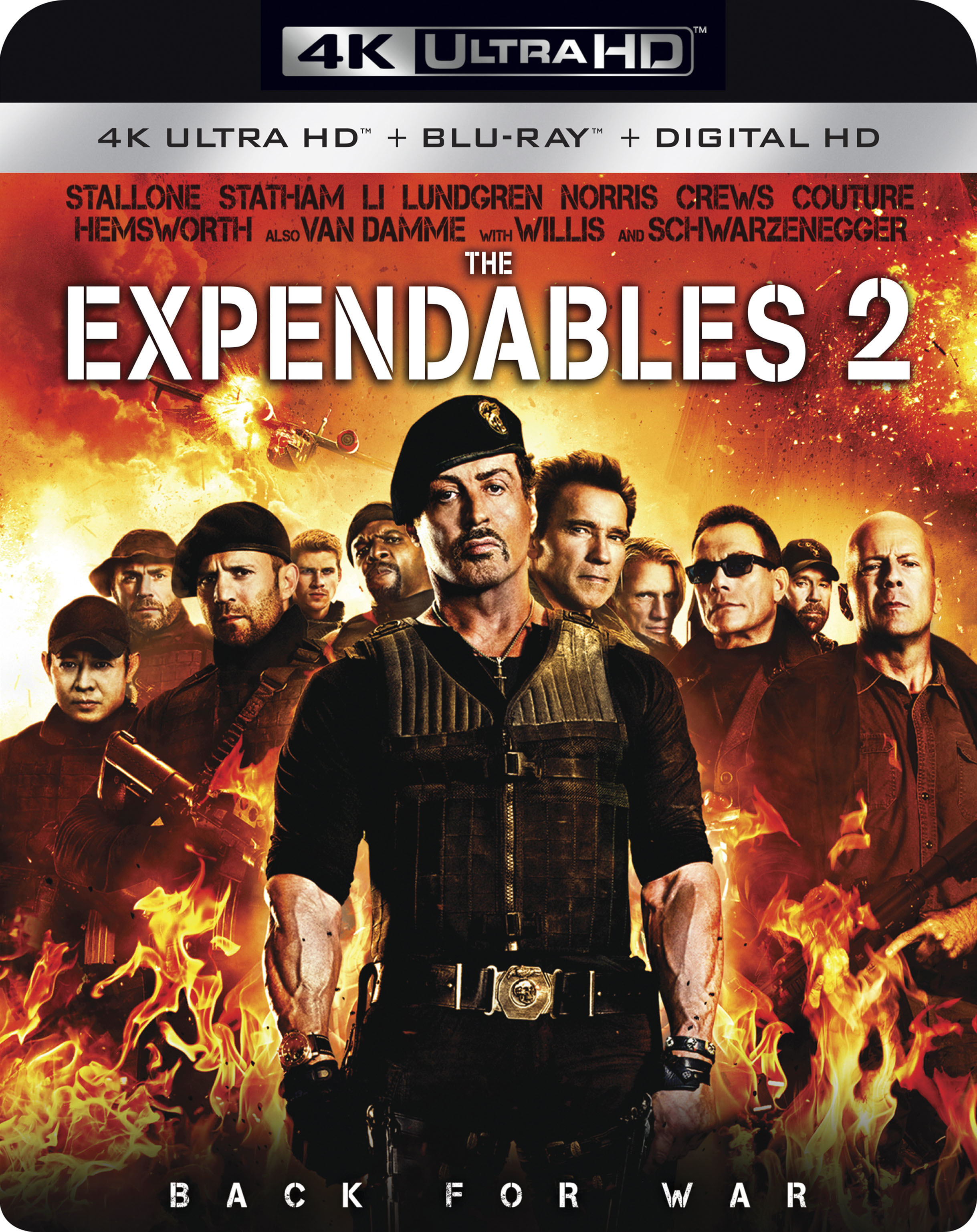 The Expendables 2 4K (2012) Ultra HD Blu-ray