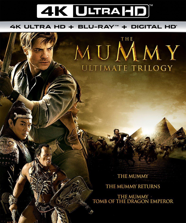 The Mummy Ultimate Trilogy 4K (1999-2008) 4K Ultra HD Blu-ray