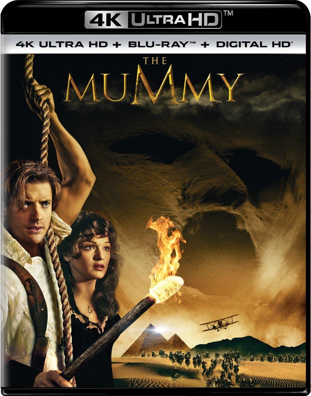 The Mummy 4K (1999) Ultra HD Blu-ray
