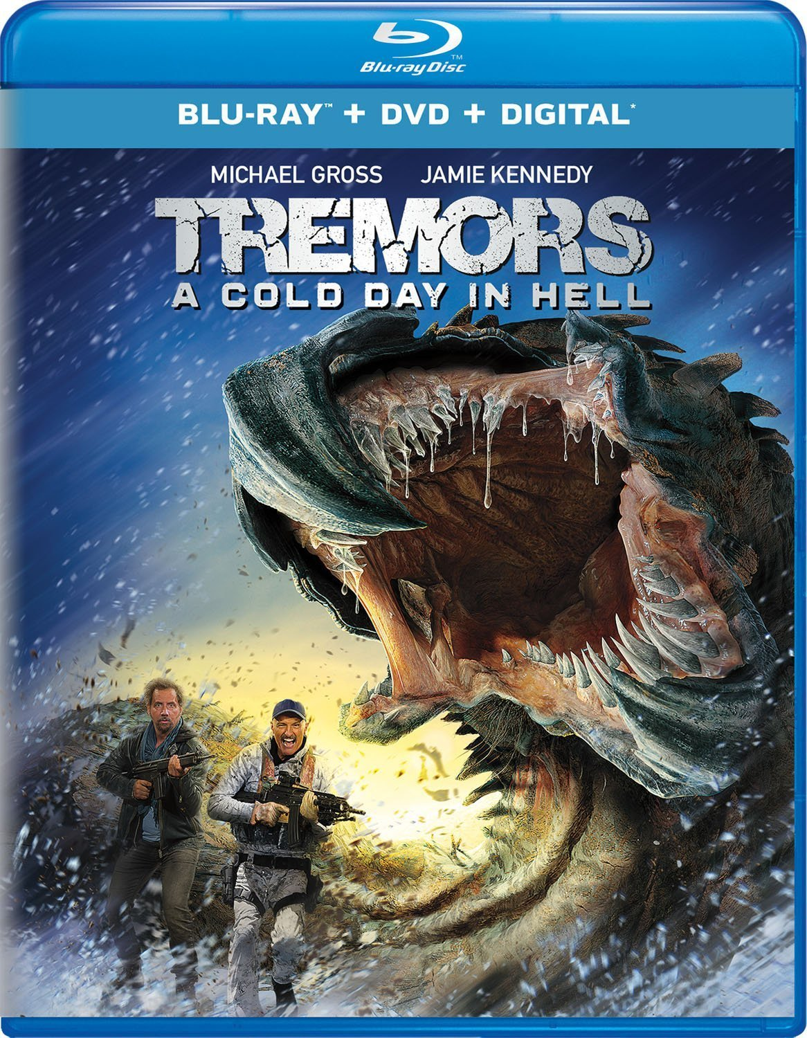 Tremors 6: A Cold Day in Hell (2018) Blu-ray