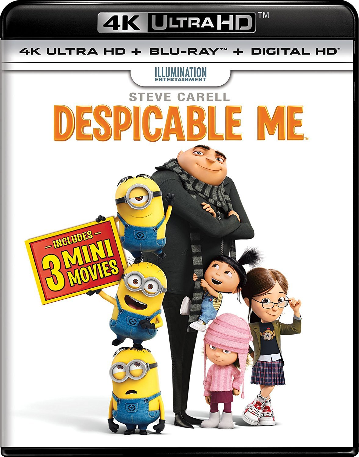 Despicable Me 4K (2010) UHD Ultra HD Blu-ray Dolby Vision