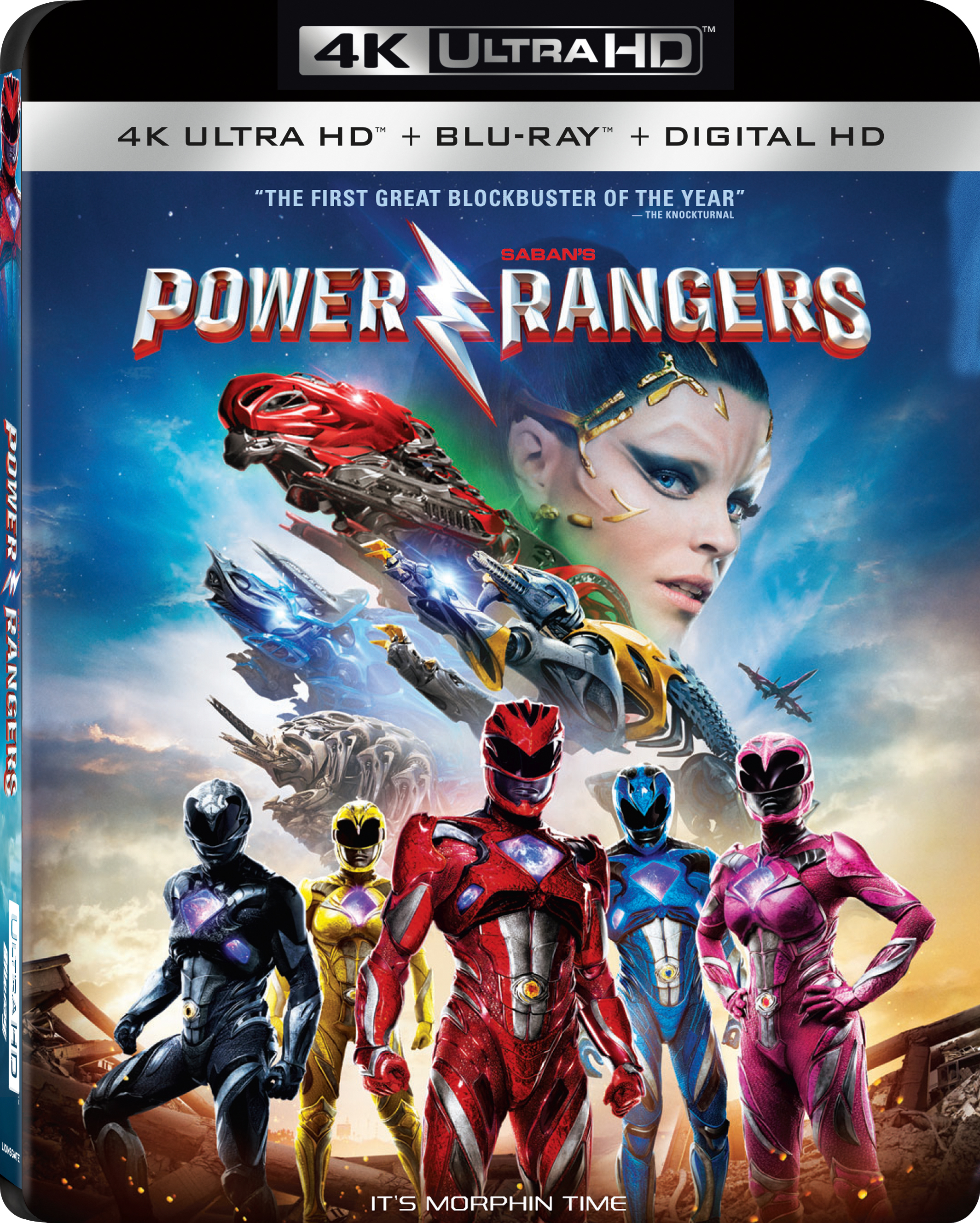 Power Rangers 4K (2017) Ultra HD Blu-ray
