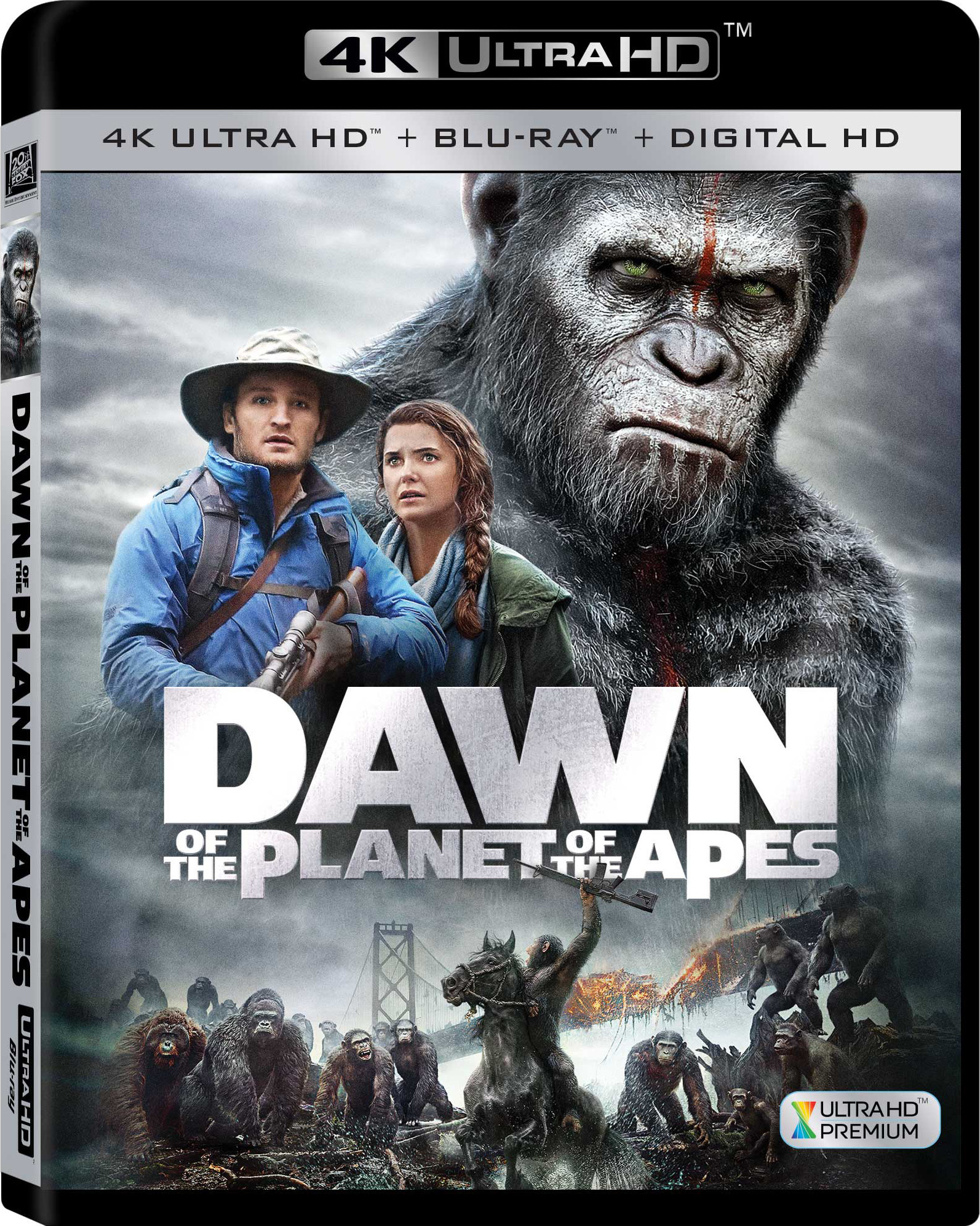 Dawn of the Planet of the Apes 4K (2014) UHD Ultra HD Blu-ray