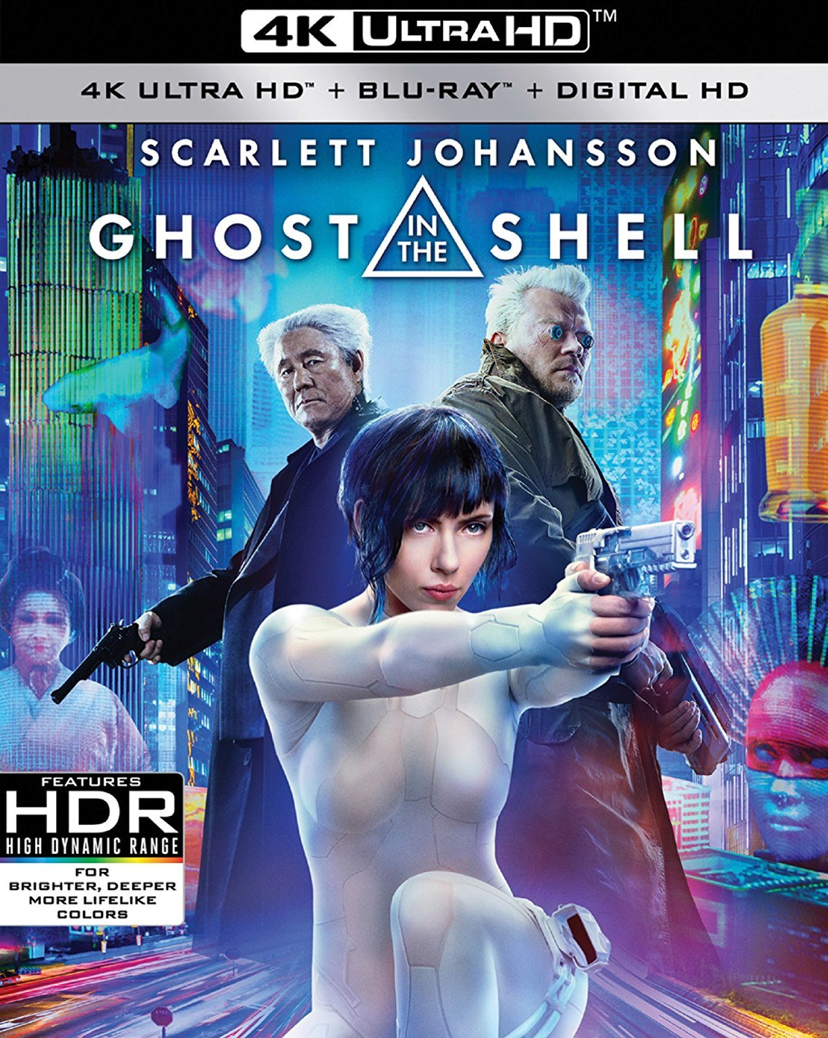Ghost in the Shell (2017) UHD Ultra HD Blu-ray