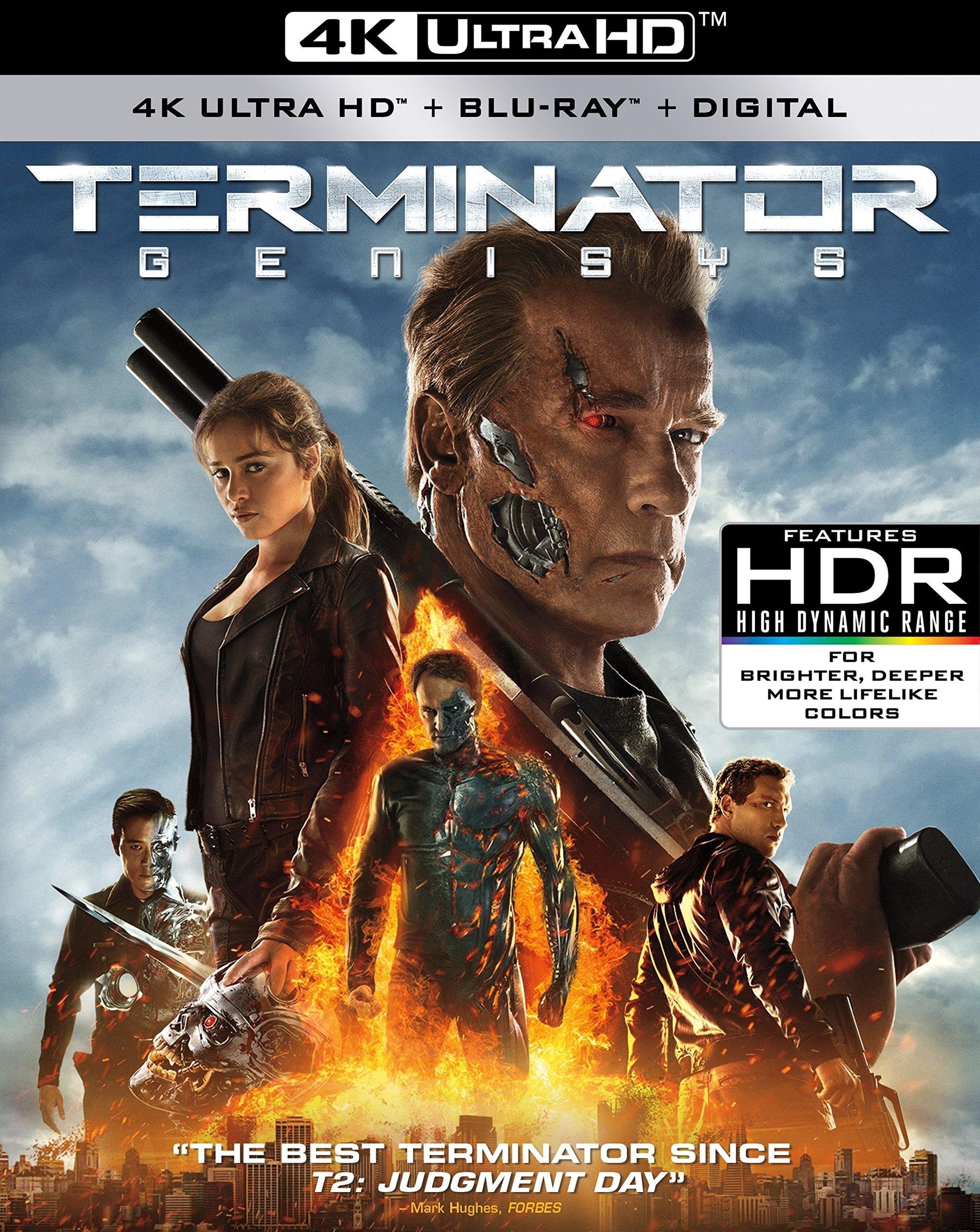 Terminator Genisys 4K (2015) Ultra HD Blu-ray