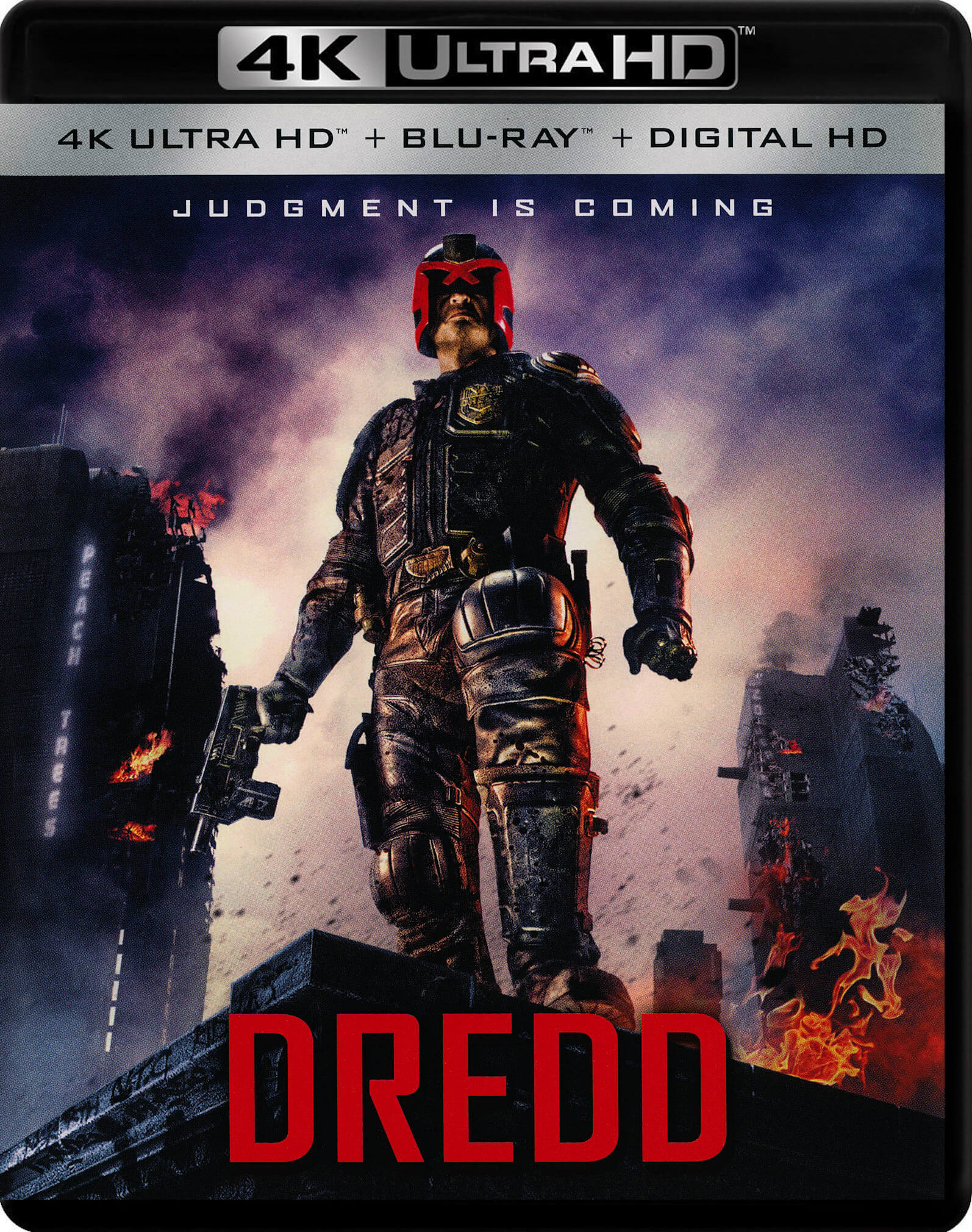 Dredd 4K (2012) UHD Ultra HD Blu-ray