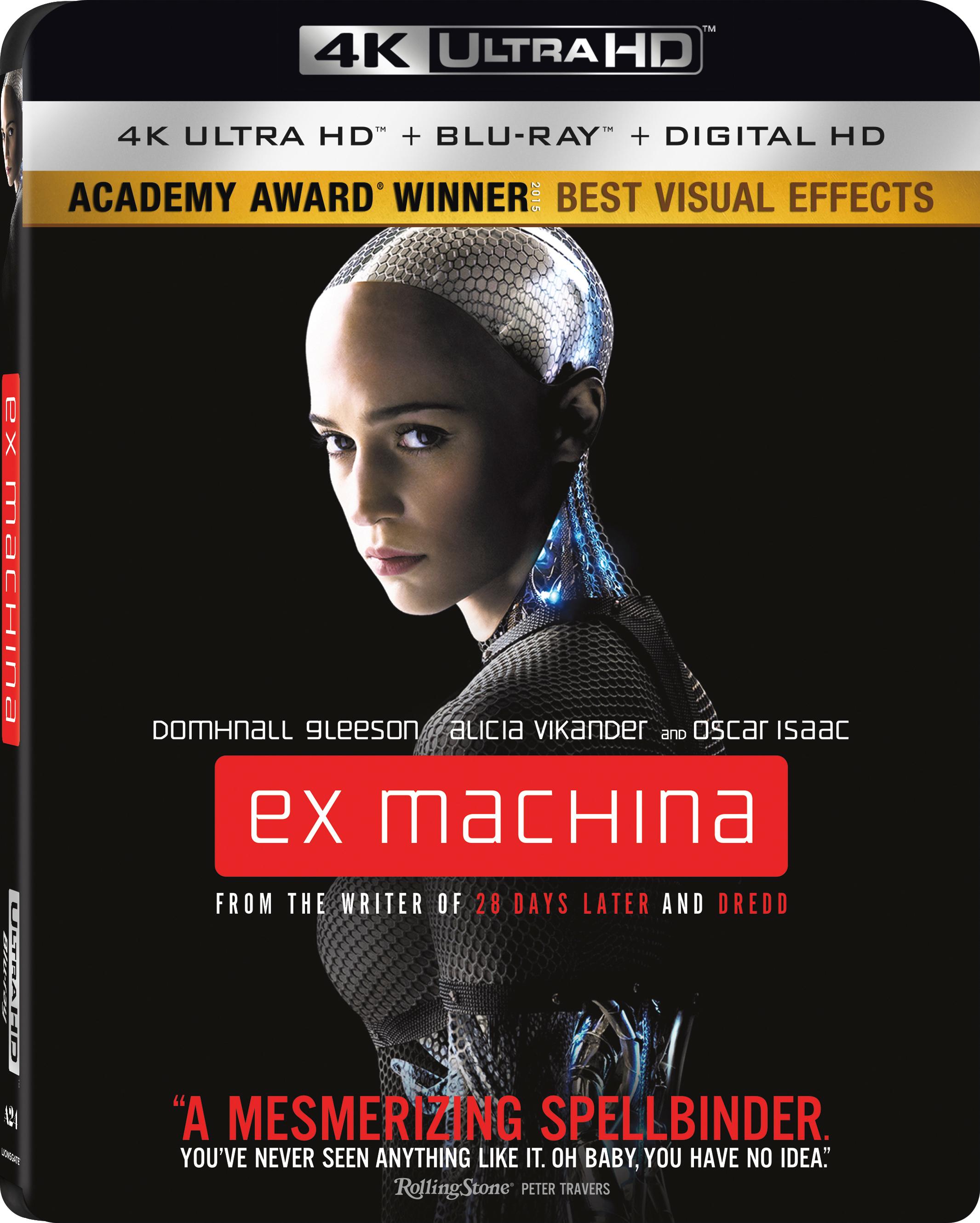 Ex Machina 4K (2015) Ultra HD Blu-ray