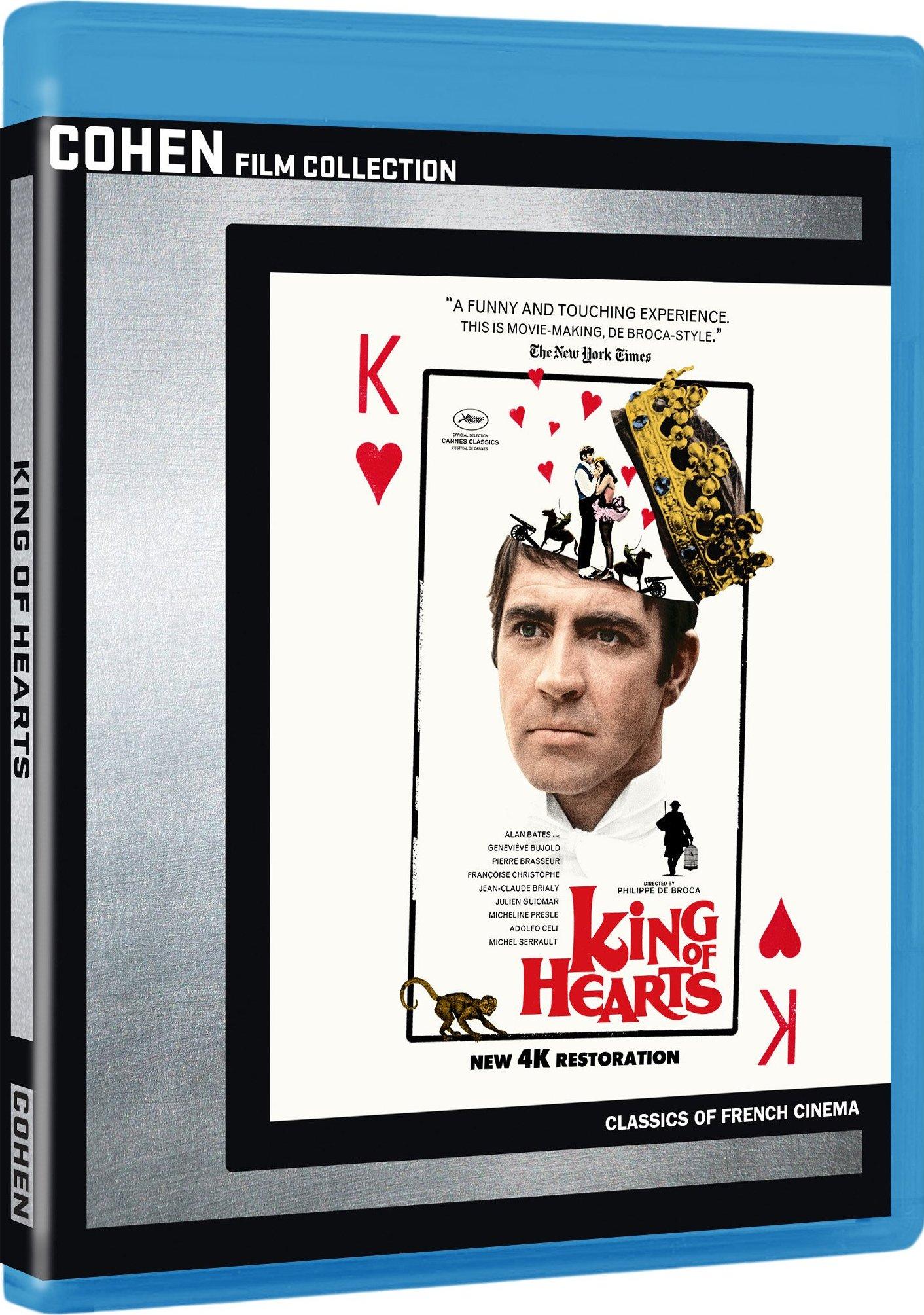 King of Hearts (1966) Blu-ray