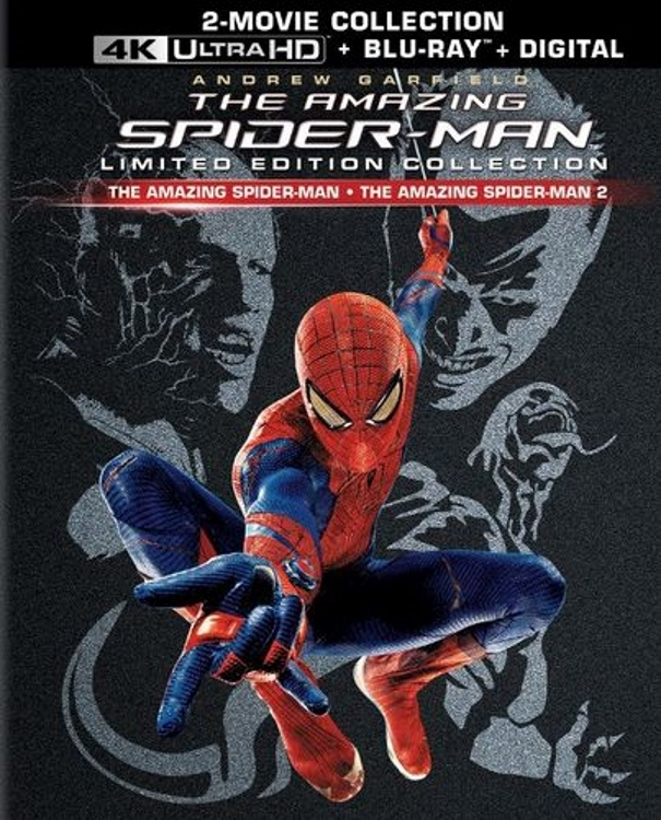 The Amazing Spider-Man 1 and 2 4K UHD Ultra HD Blu-ray