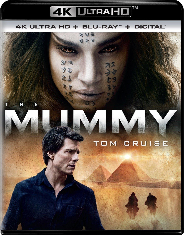 The Mummy 4K (2017) UHD Ultra HD Blu-ray