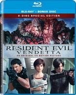 Resident Evil Degeneration Resident Evil Damnation Resident Evil Vendetta Blu Ray Release Date October 17 2017