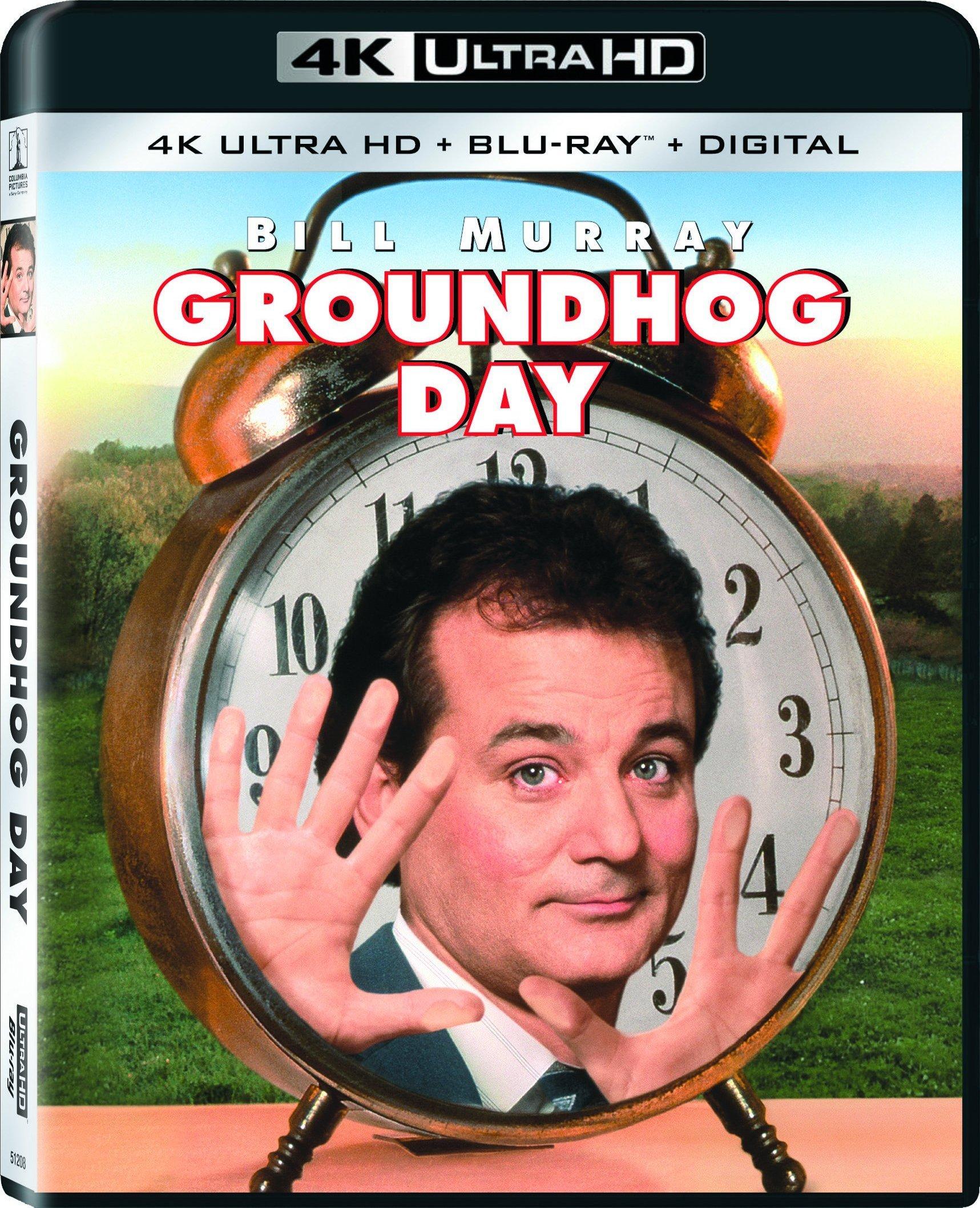 Groundhog Day 4K (1993) UHD Ultra HD Blu-ray