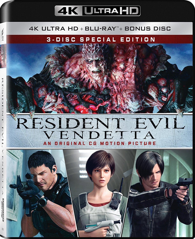 Resident Evil: Vendetta 4K (2017) UHD Ultra HD Blu-ray