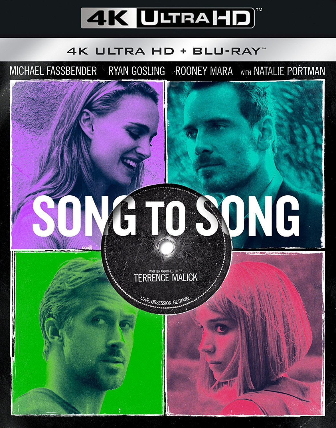 Song to Song (2017) 4K Ultra HD Blu-ray