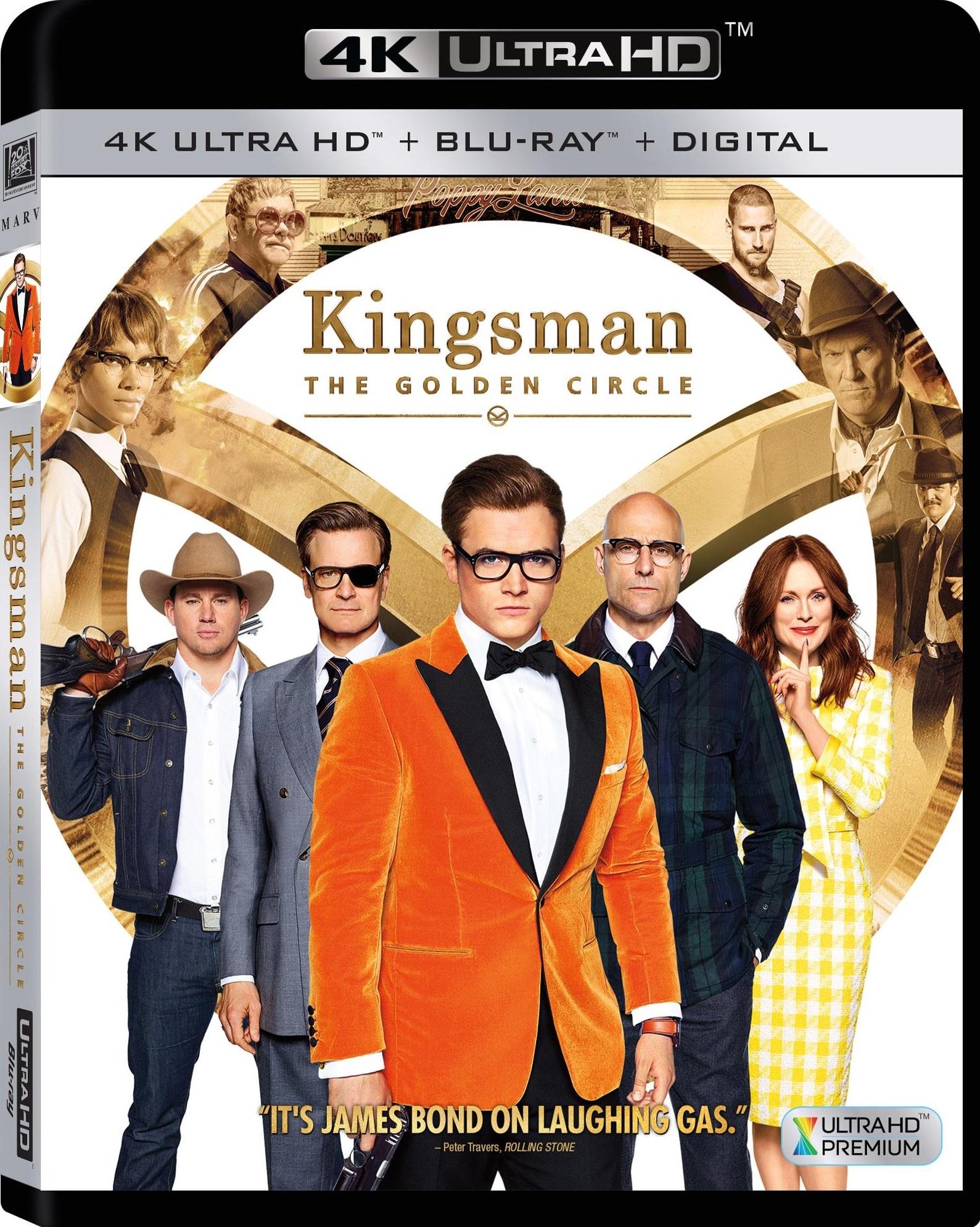 Kingsman: The Golden Circle 4K (2017) UHD Ultra HD Blu-ray