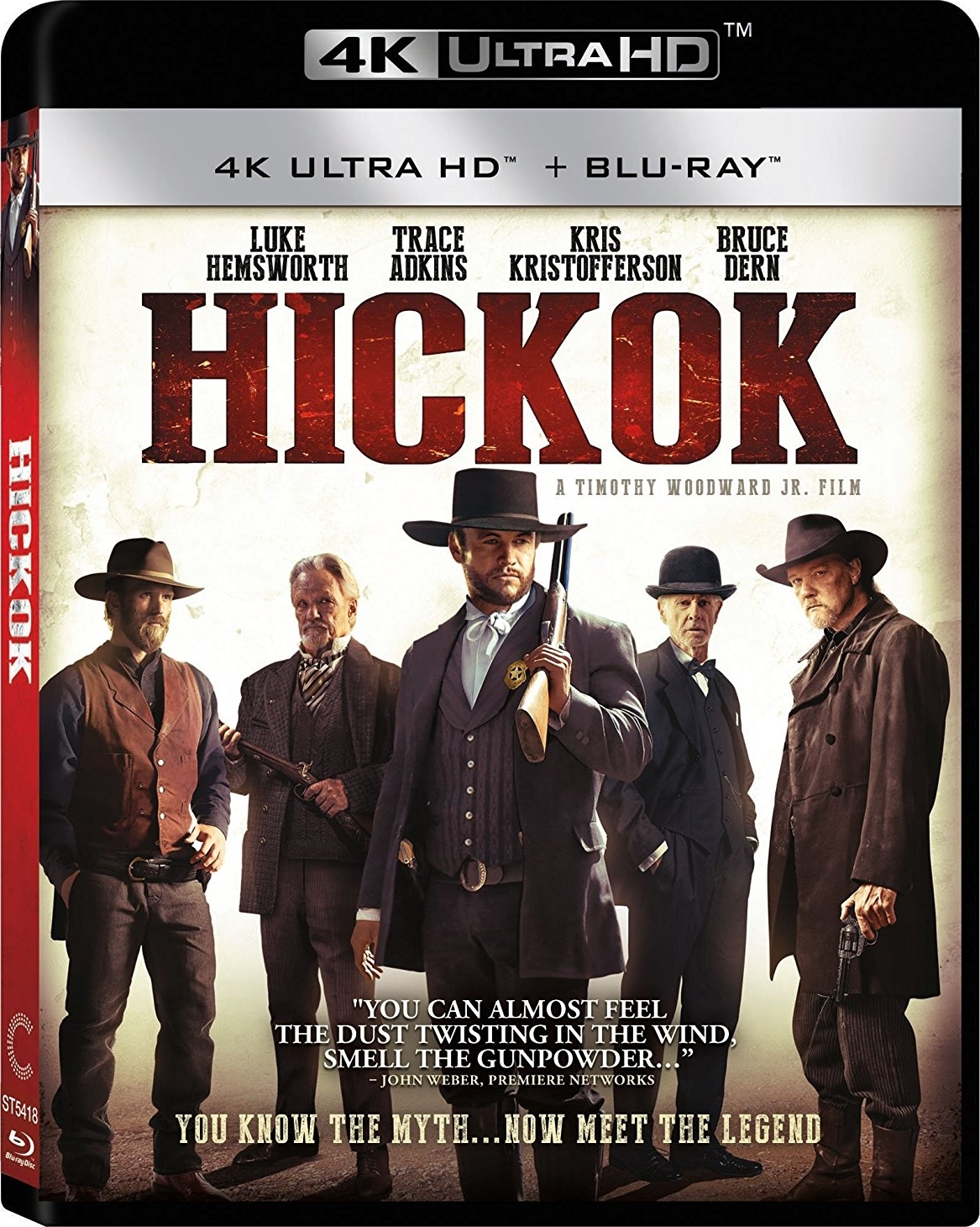 Hickok 4K (2017 UHD Ultra HD Blu-ray