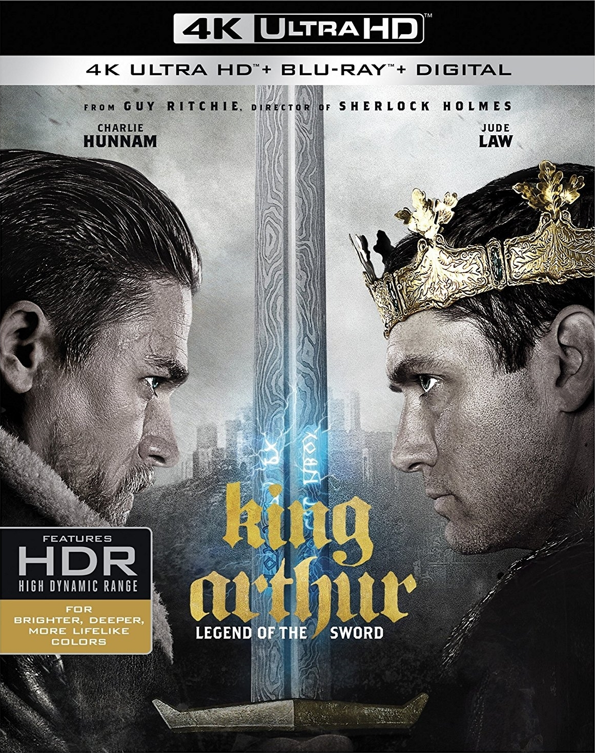 King Arthur: Legend of the Sword 4K (2017) UHD Ultra HD Blu-ray