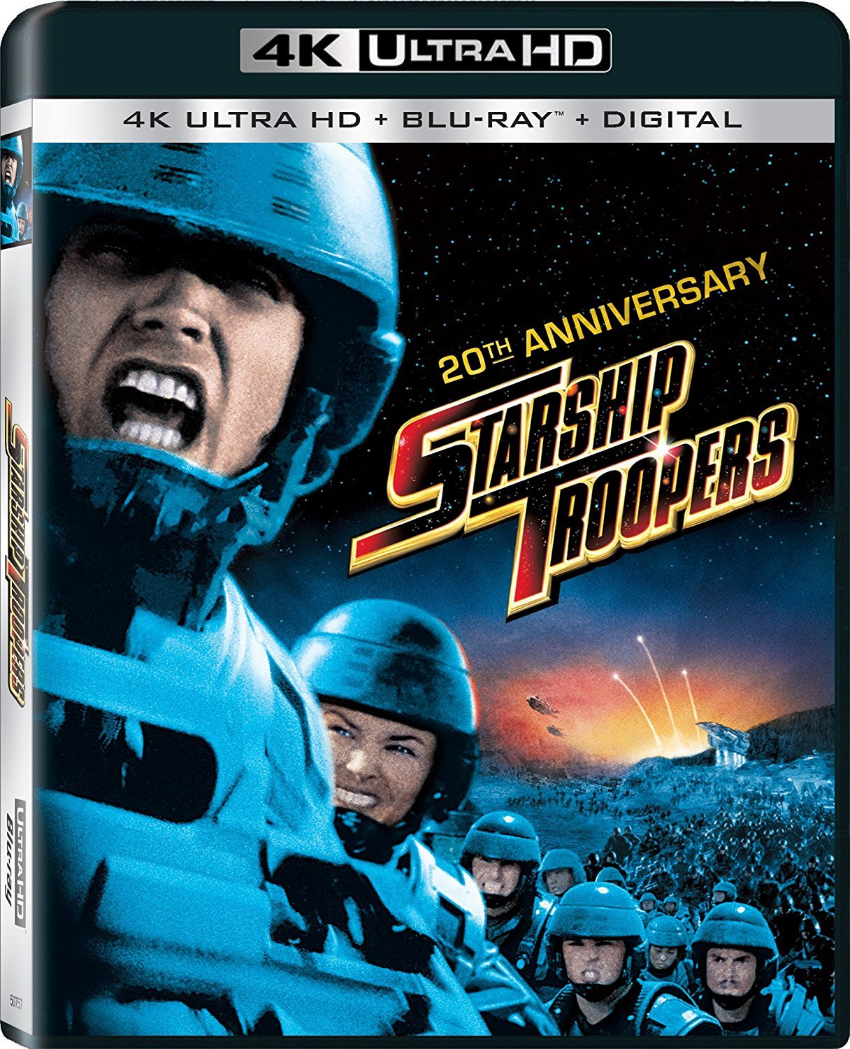 Starship Troopers 4K (1997) UHD Ultra HD Blu-ray