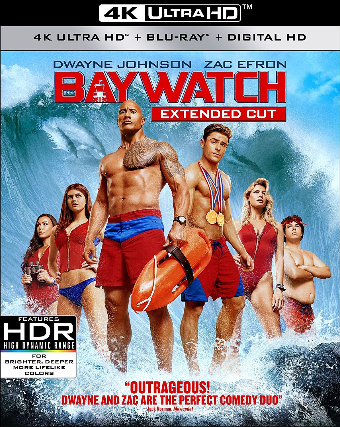 Baywatch (2017) 4K Ultra HD UHD Blu-ray
