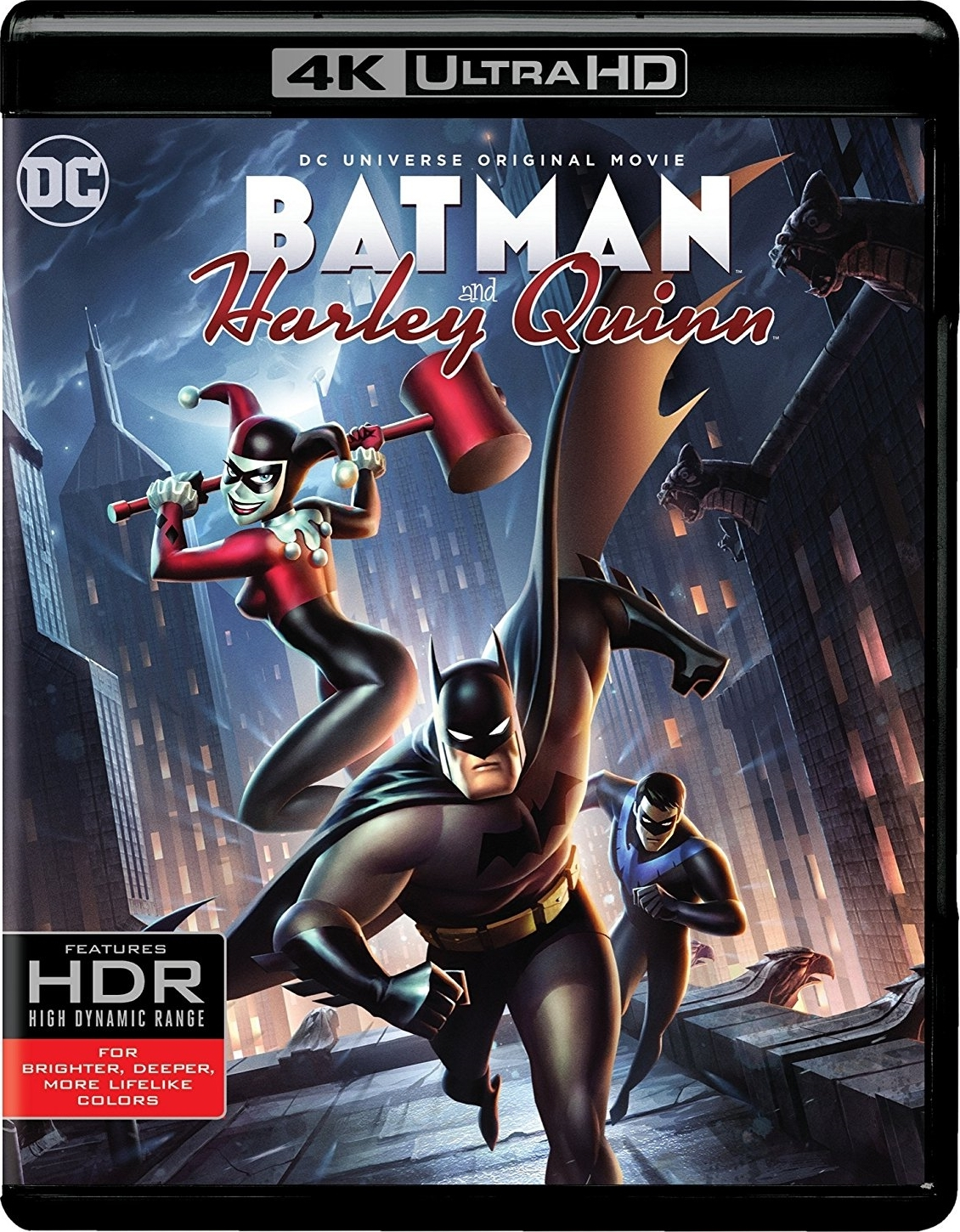 Batman and Harley Quinn 4K (2017) UHD Ultra HD Blu-ray
