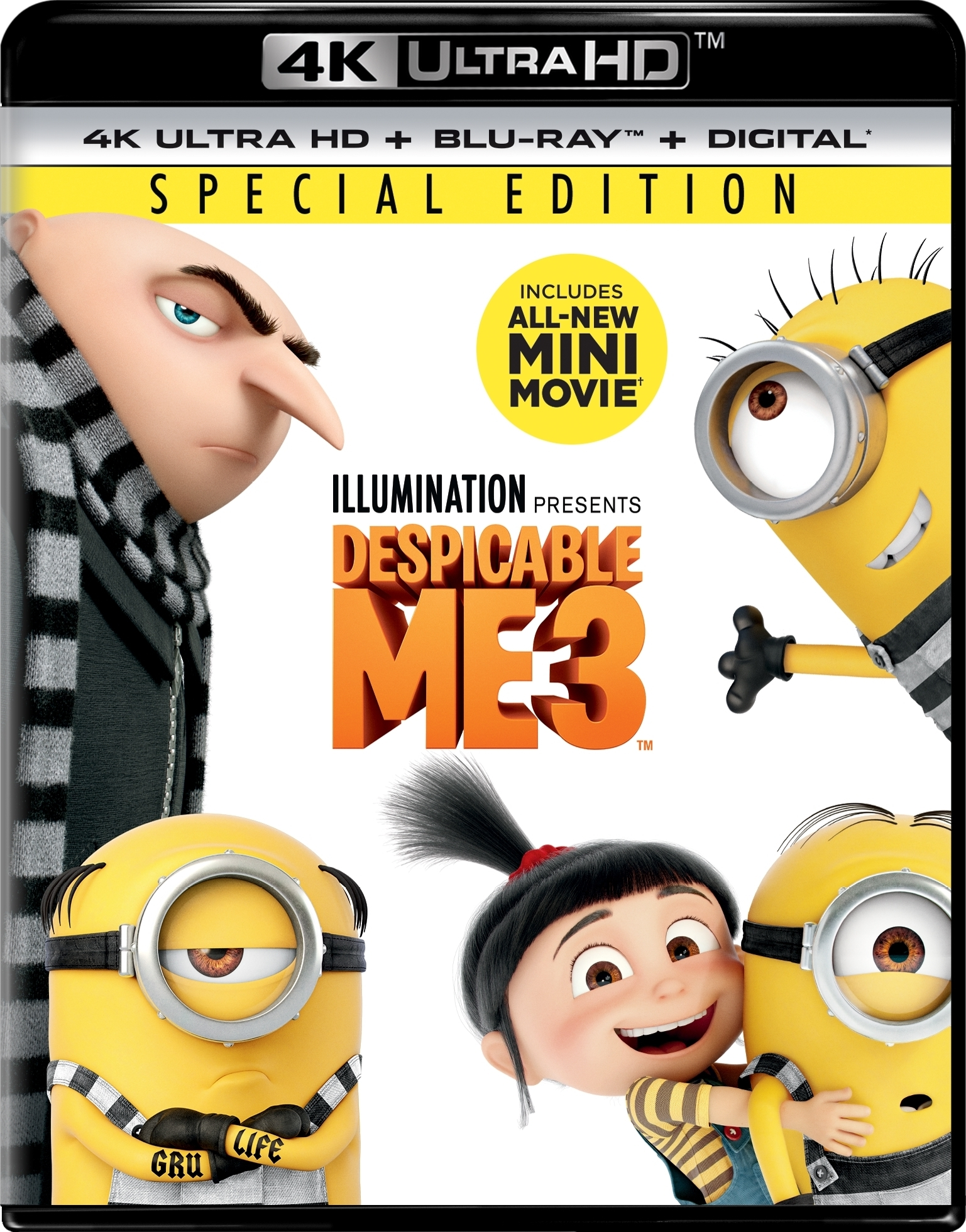 Despicable Me 3 4K (2017) Ultra HD Blu-ray