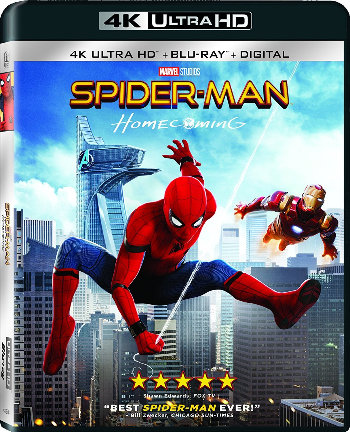 Spider-Man: Homecoming (2017) 4K Ultra HD Blu-ray