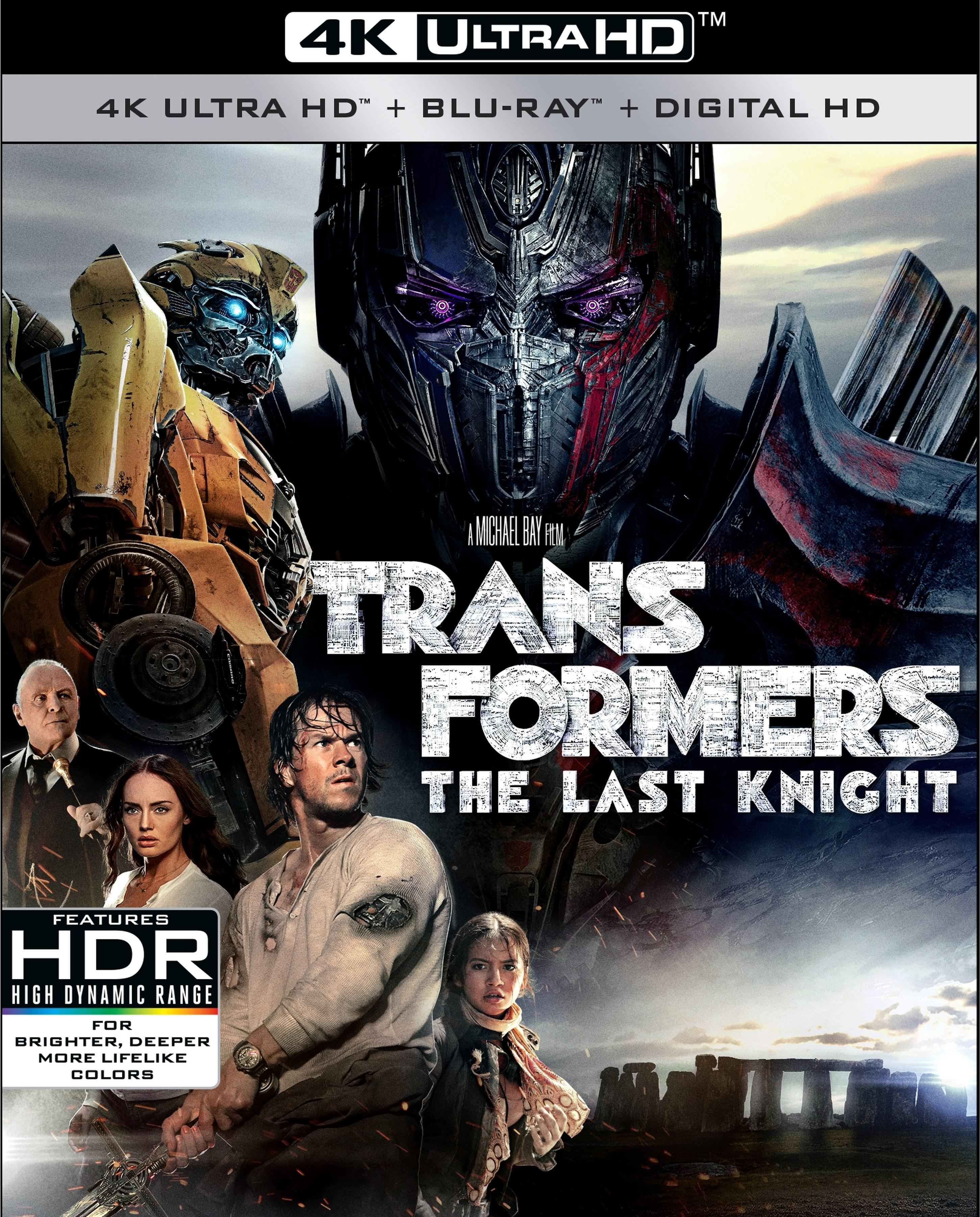 Transformers: The Last Knight 4K (2017) UHD Ultra HD Blu-ray
