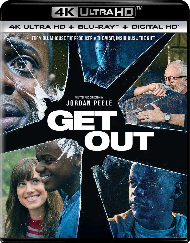 Get Out 4K (2017) UHD Ultra HD Blu-ray