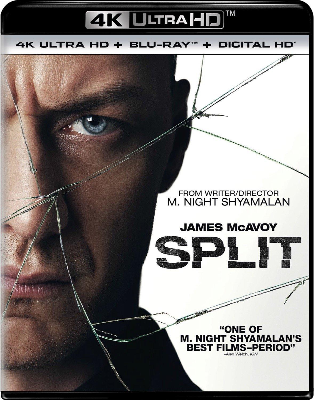 Split 4K (2017) UHD Ultra HD Blu-ray