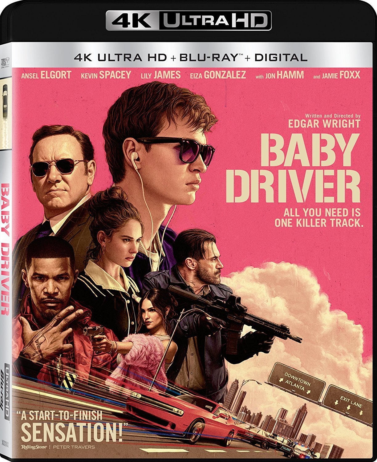 Baby Driver (2017) 4K Ultra HD Blu-ray