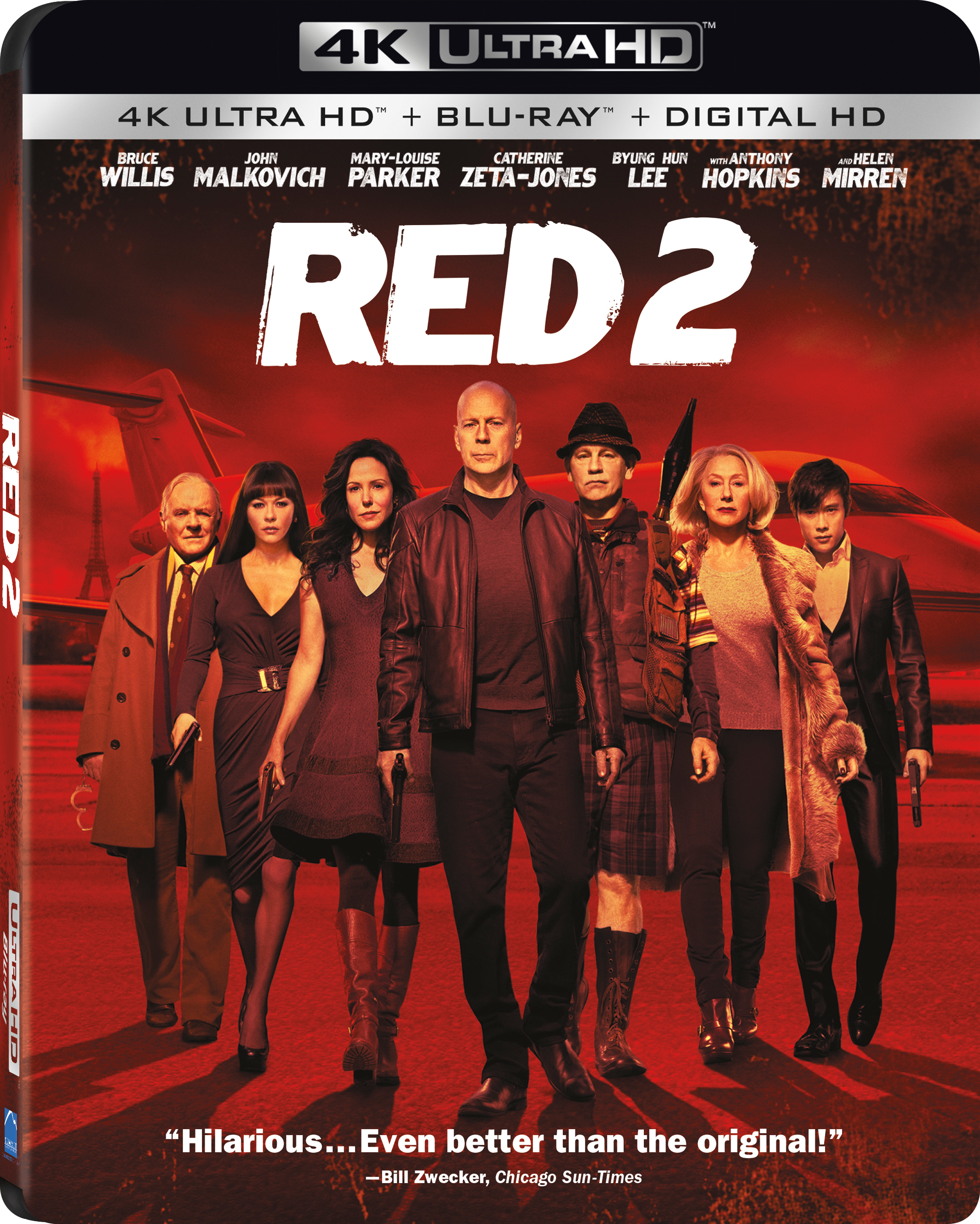 RED 2 (2013) 4K Ultra HD Blu-ray